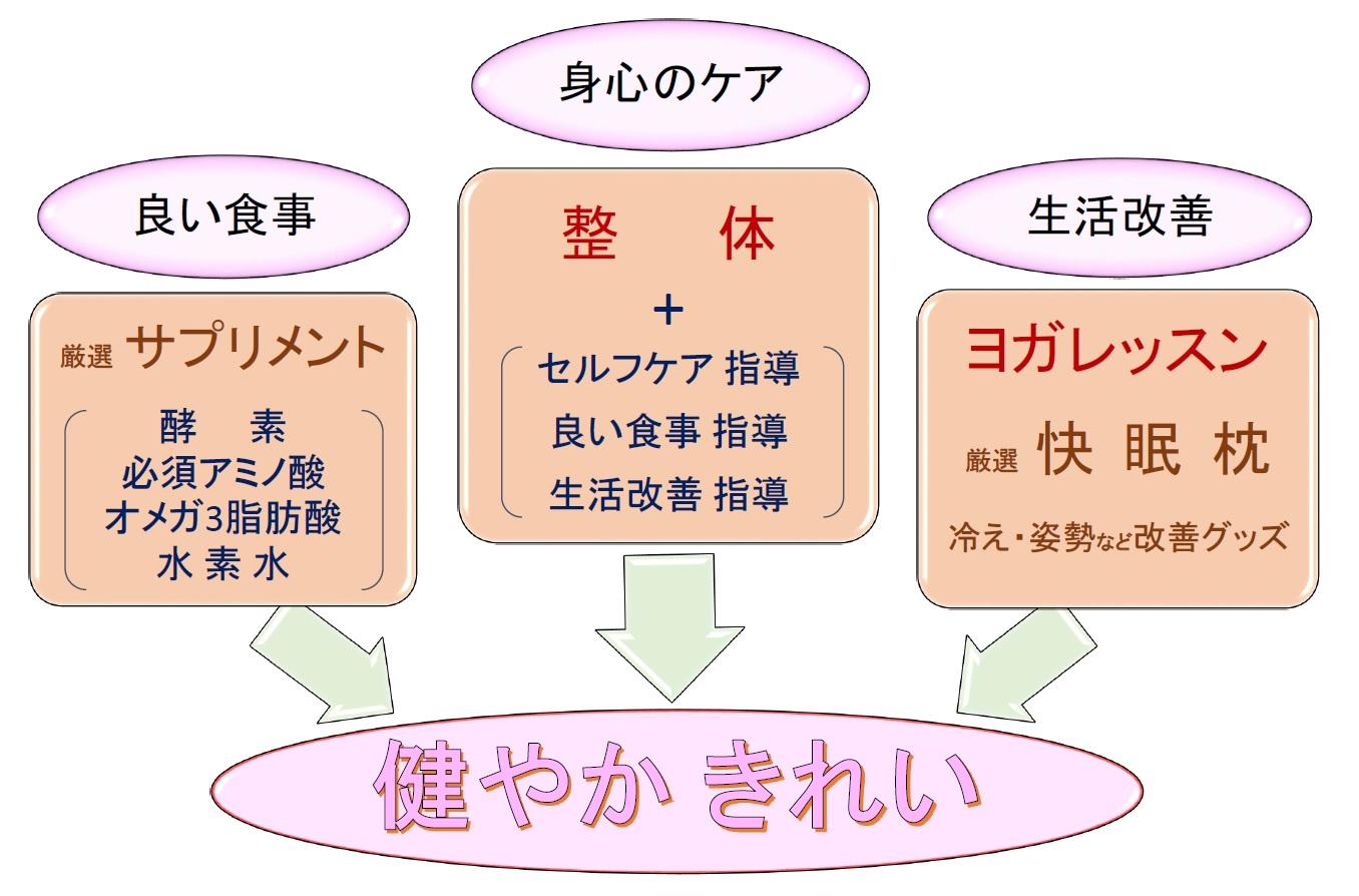 スマイルボディが提供すること 2-2016.7