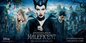 Maleficent-Angelina_Jolie-Elle_Fanning-Banner-Poster