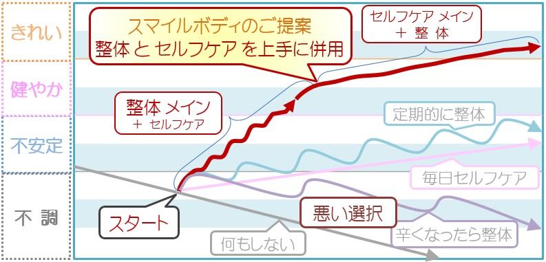 健康度グラフ