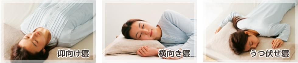 寝方 3パターン