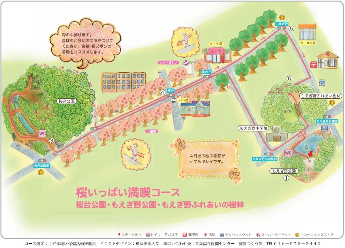 桜いっぱい満喫コース
